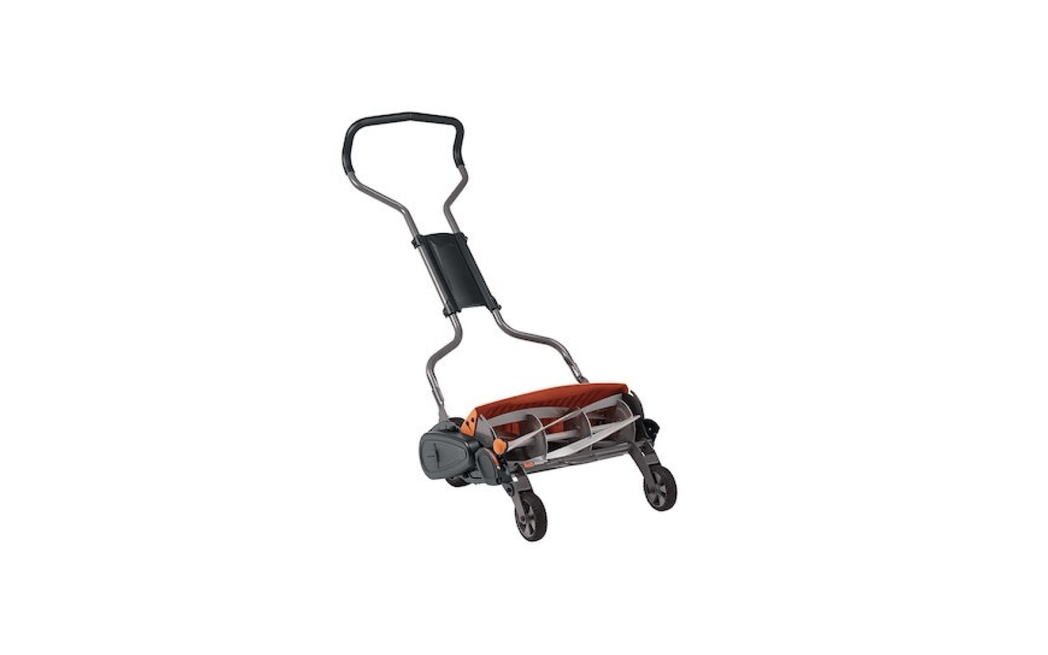 From Fiskars, an easy-to-push Stay Sharp Max Reel Mower has a &#8