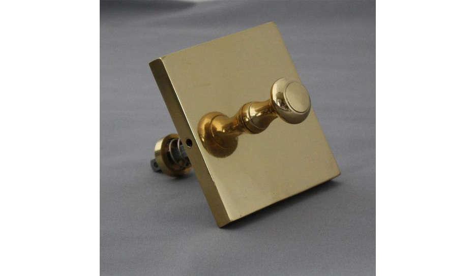 Architectural Decor Victorian Brass Bell Pull