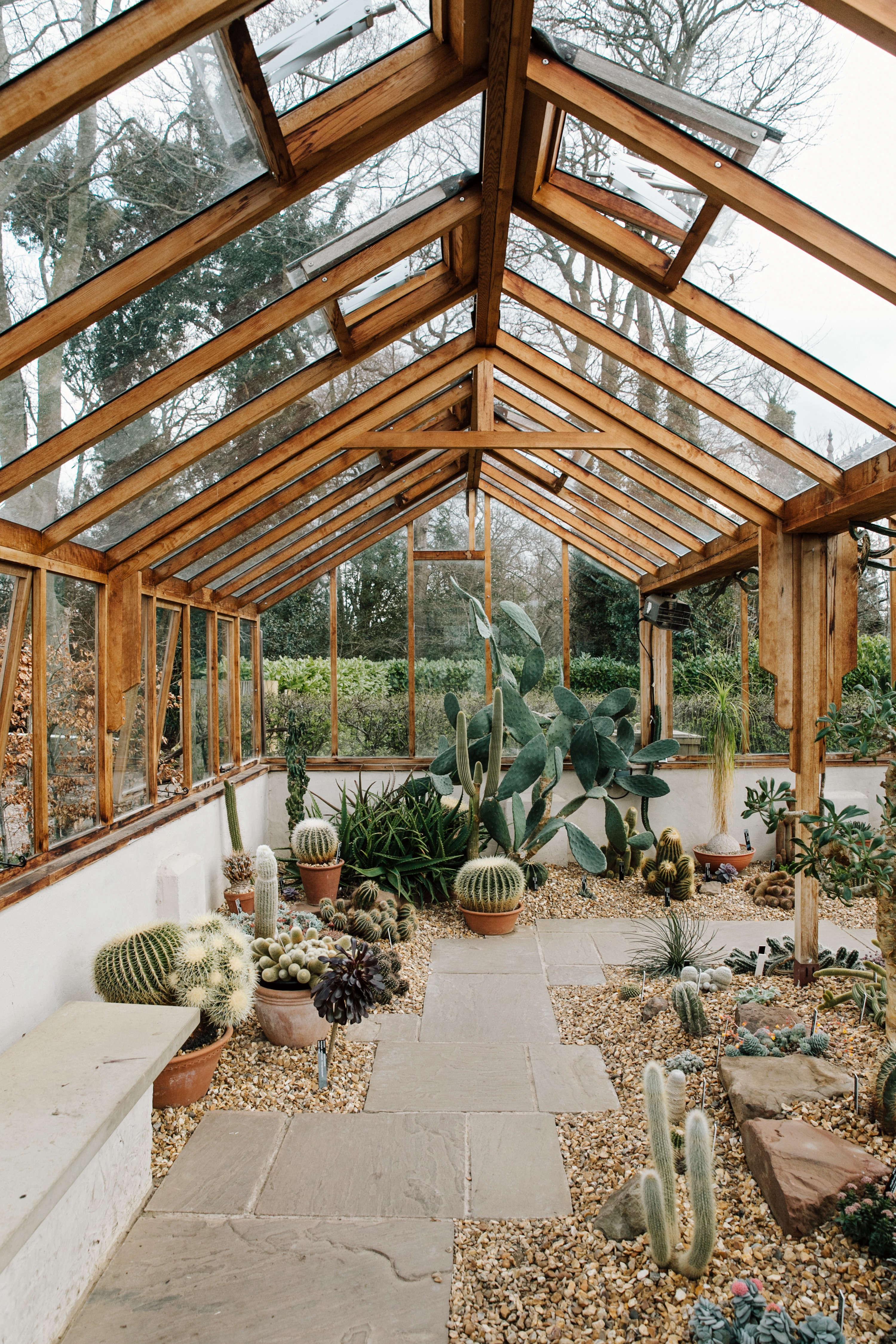 Evergreen Book Winterbourne Greenhouse by Haarkon