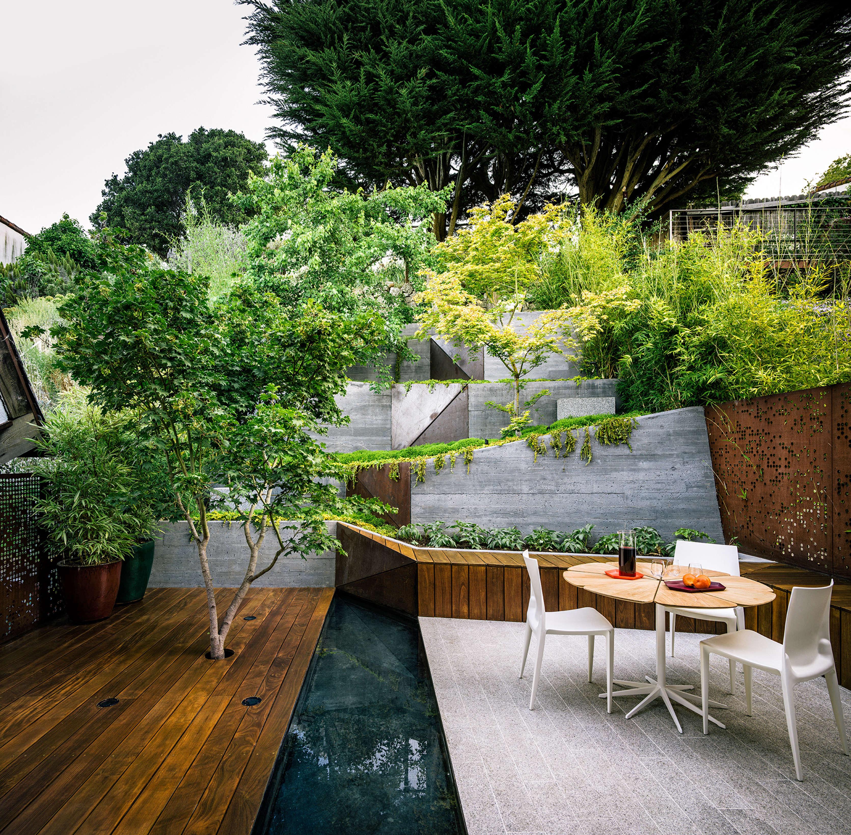 Evergreen Book Garden by Mary Barensfeld Architecture, Photo by Joe Fletcher