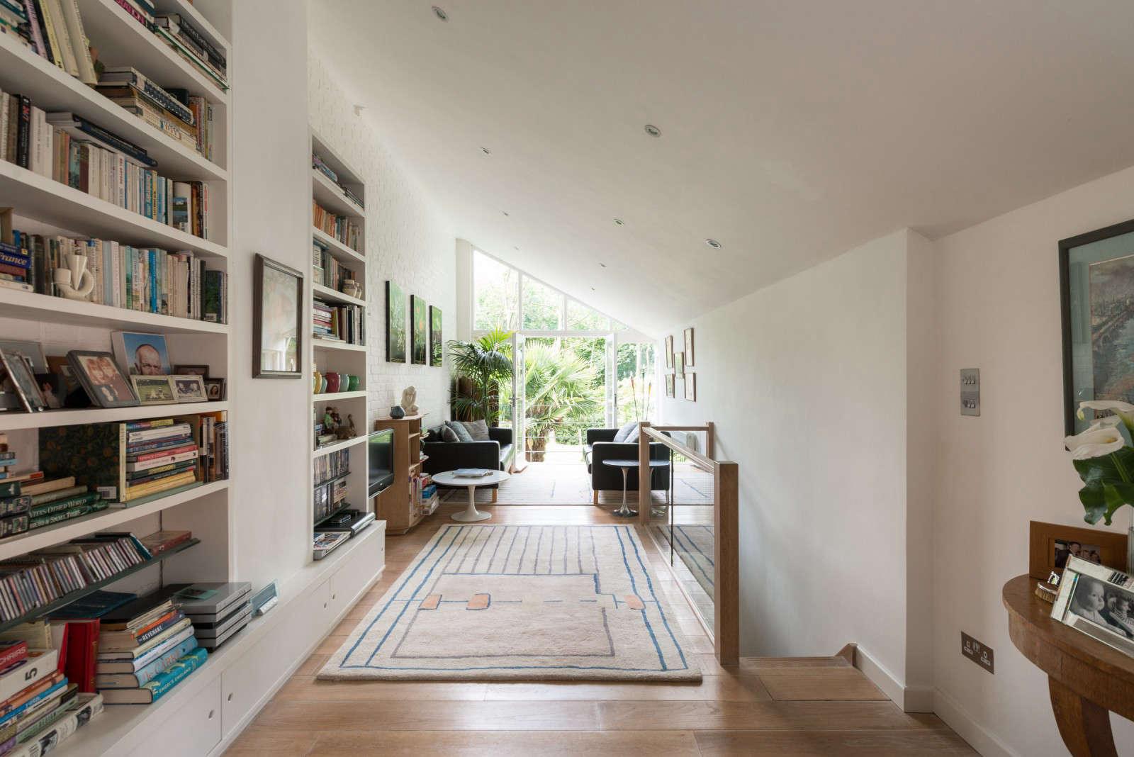 greenhouse-conversion-kent-indoors-bookshelf-view-3