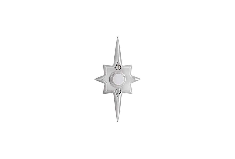 Midcentury Star Doorbell Button