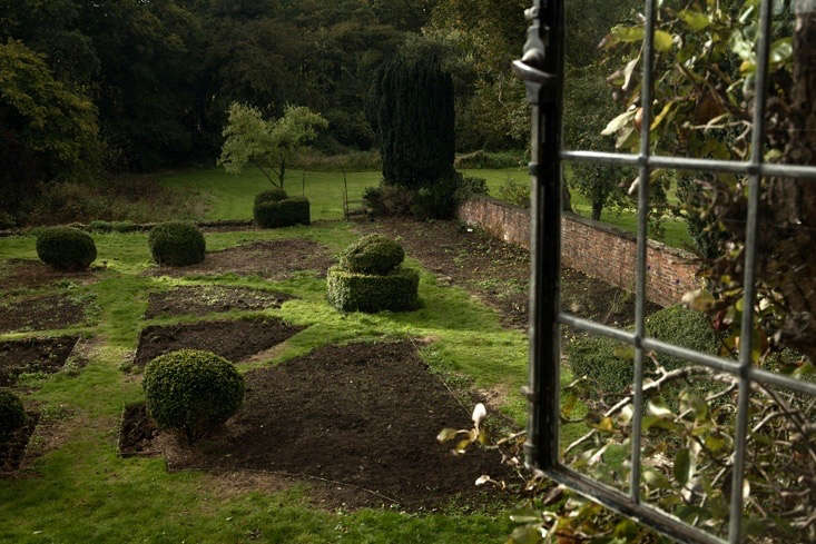 Reviving a historic parterre in Northamptonshire. For more of this garden, see Rehab Diary, Part 3: Uncovering the Past in Nancy Lancaster's Garden at Wilderness House. Photograph by Jim Powell.