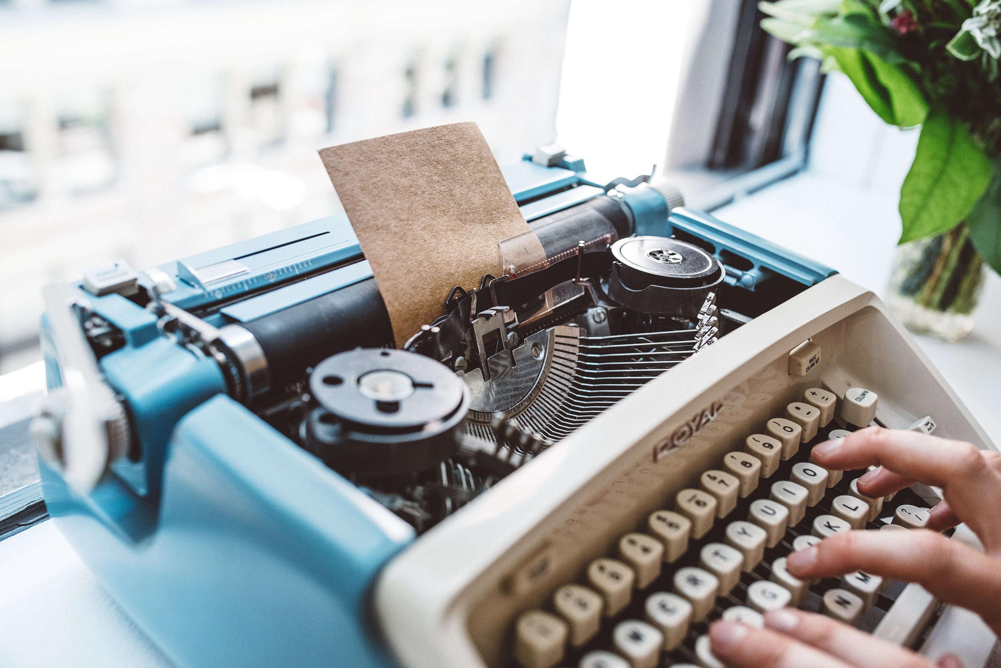 Petal by Pedal Typewriter