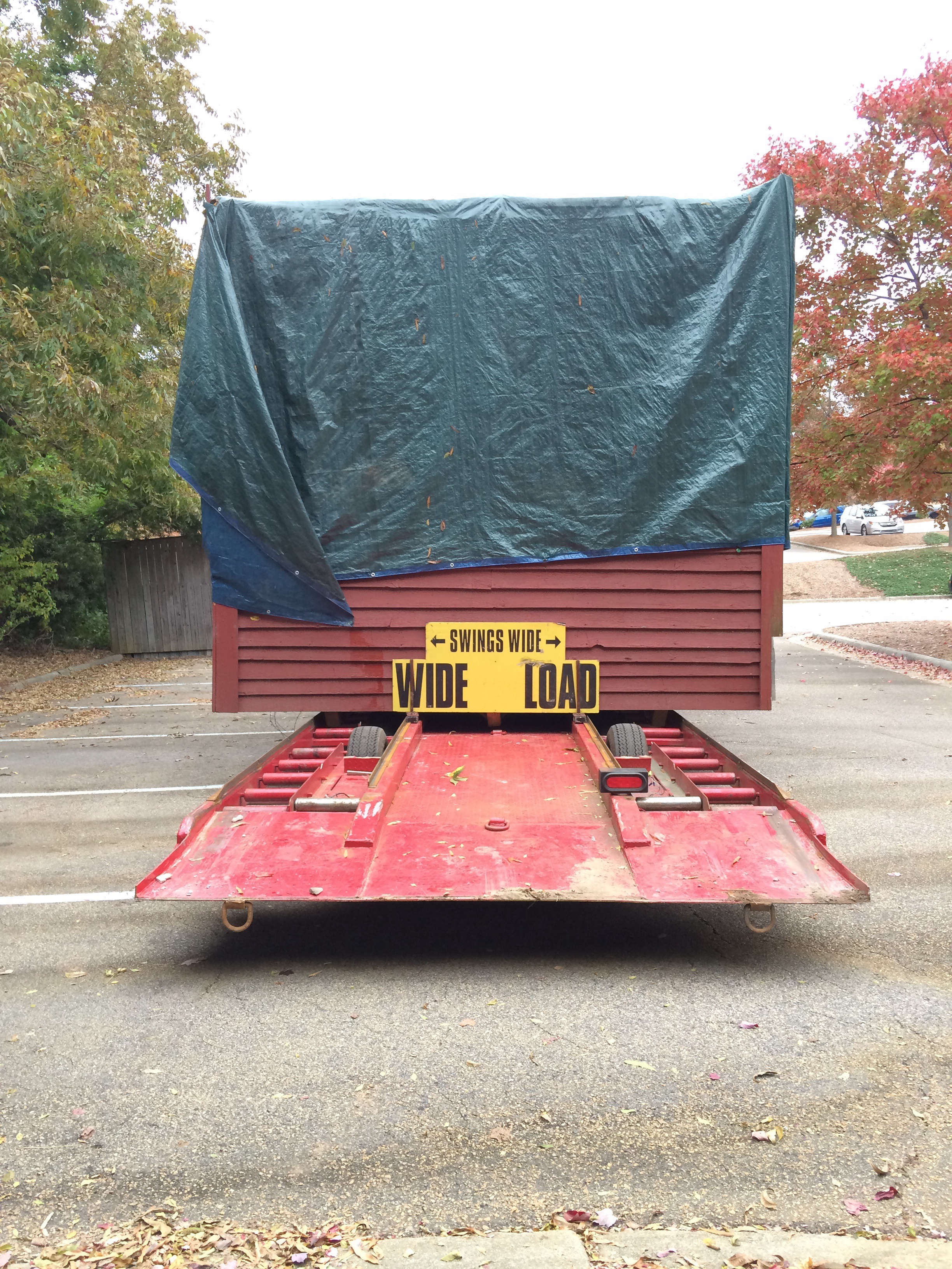 Good South Studio Shed on Truck, Photo by Chris and Elizabeth Boyette