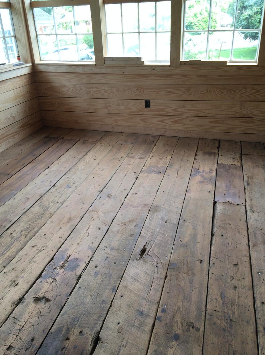 Good South Studio Rough Flooring, Photo by Chris and Elizabeth Boyette