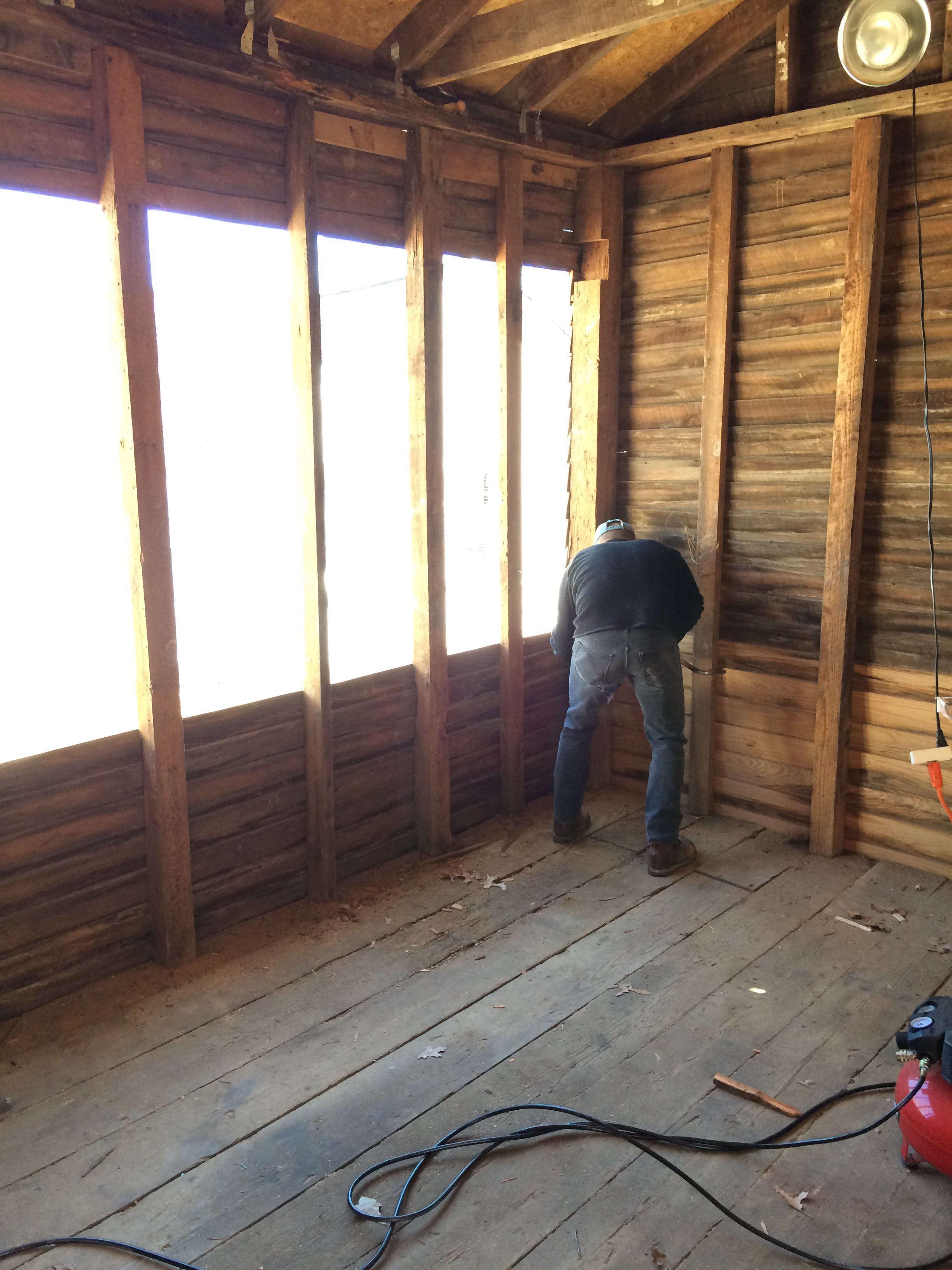 Good South Studio Window Framing, Photo by Chris and Elizabeth Boyette