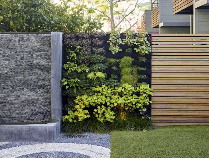 A green wall designed by Monica Viarengo