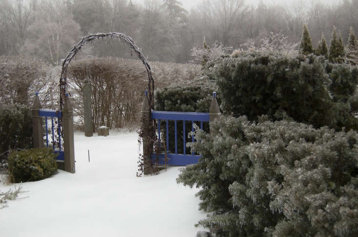 Into winter. Photograph by Joseph Valentine fromGarden Visit: At Home at Juniper Hill Farm in New Hampshire.