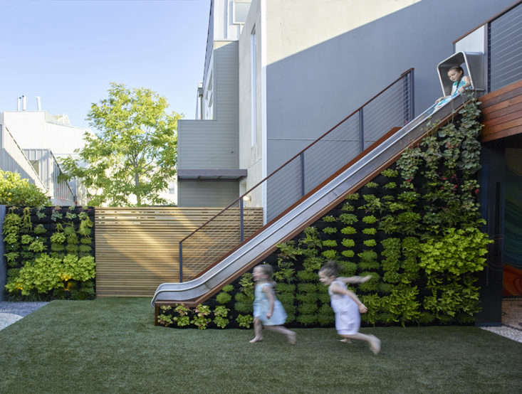 A kids playscape in San Francisco's Mission District, designed by Monica Viarengo