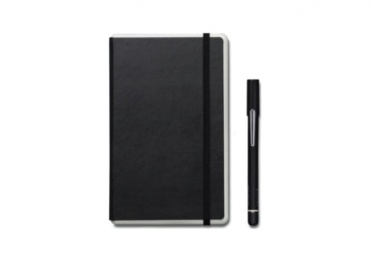 Moleskine's Smart Writing Set (\$\199) captures hand-written lists and drawings and translates them into a mobile app: &#8\2\20;Ncoded paper technology allows the Pen+ to recognize exactly where it is in the Paper Tablet and capture each stroke as you capture your thoughts..&#8\2\2\1;