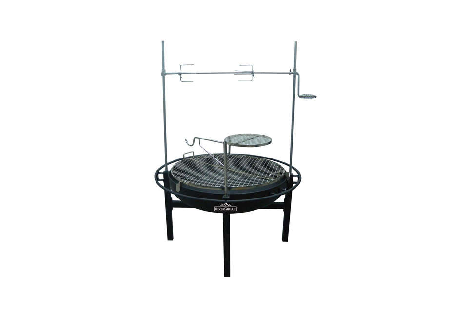 River Grille Cowboy 31-Inch Charcoal Grill and Fire Pit