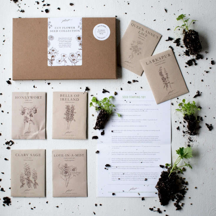 A seed collection from Floret Flowers. See Seed Collections for Adventurous Gardeners.