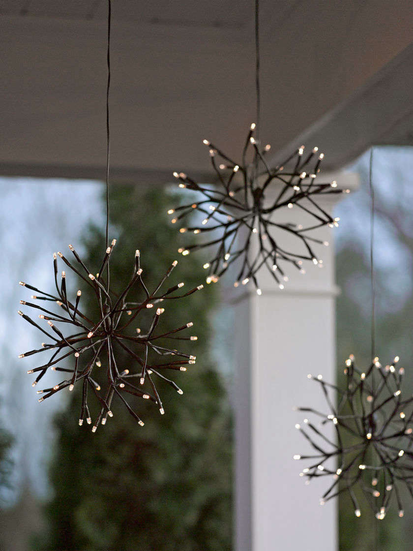 For a selection of LED Branch Starburst lights, see Gardener&#8\2\17;s Supply.