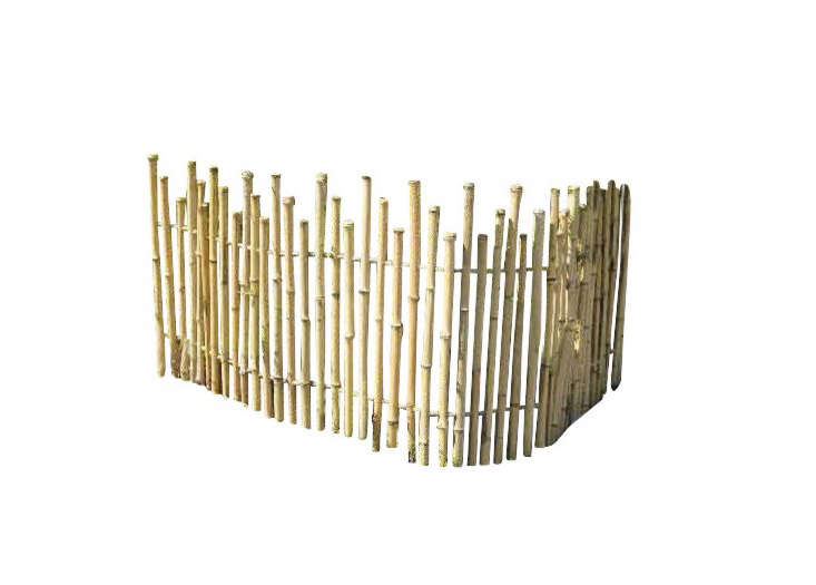 Bamboo-picket-fence
