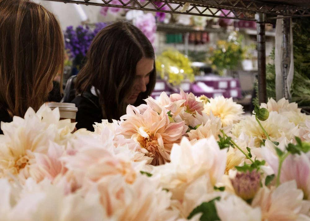 Five Bouquets One Trip Flower Market 1