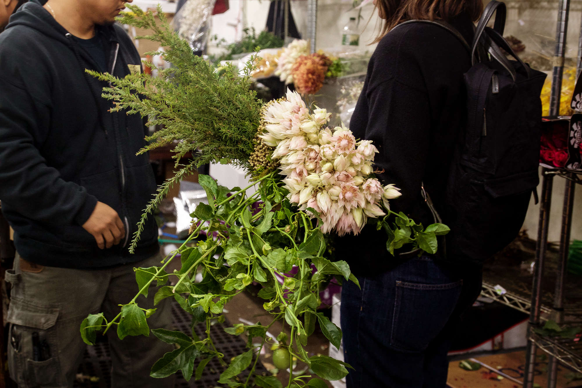 Five Bouquets One Trip Flower Market 3
