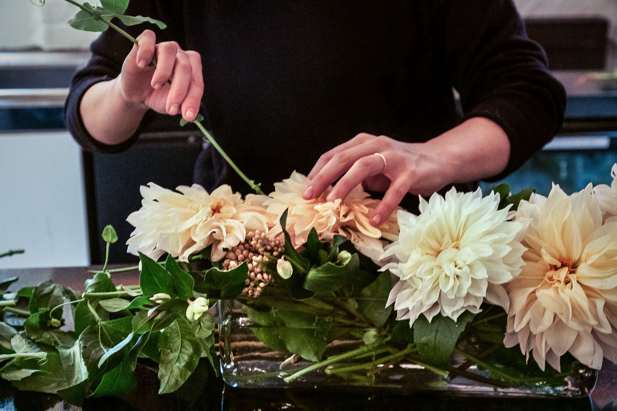 Making Five Bouquets from One Trip to the Flower Market
