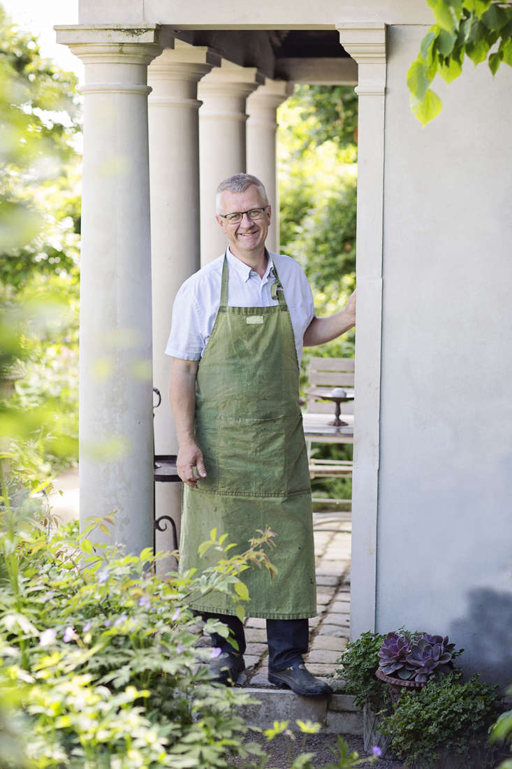 The charismatic Claus Dalby, at home in Denmark.