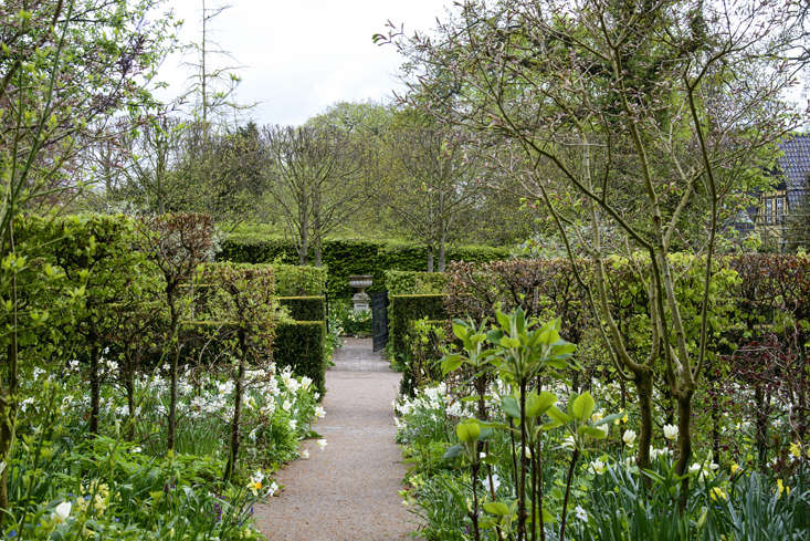 Claus Dalby's spring garden in Denmark