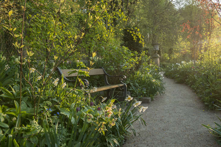 Besides its spring perfection, Claus Dalby&#8\2\17;s garden keeps him busy in every season. Flowers are brought indoors from the glass houses, interior design being another of Claus&#8\2\17; abiding interests.