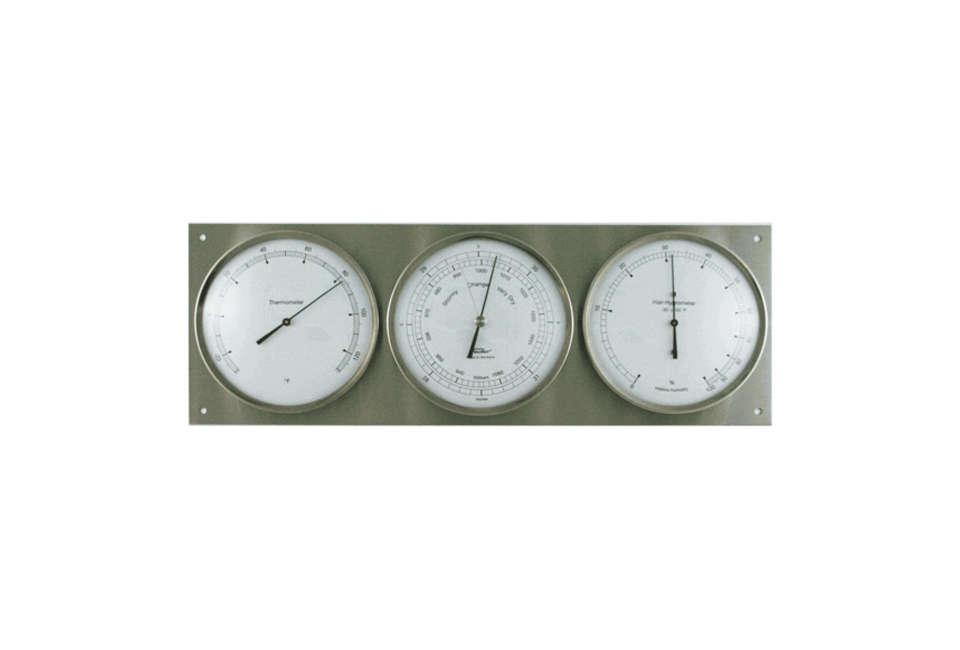 Fischer Instruments Stainless Steel Barometer