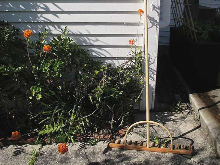 Garden Objects Timber Rake