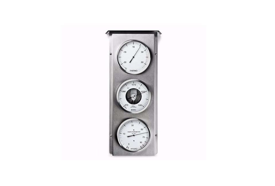Manufactum Stainless Steel Outdoor Weather Station