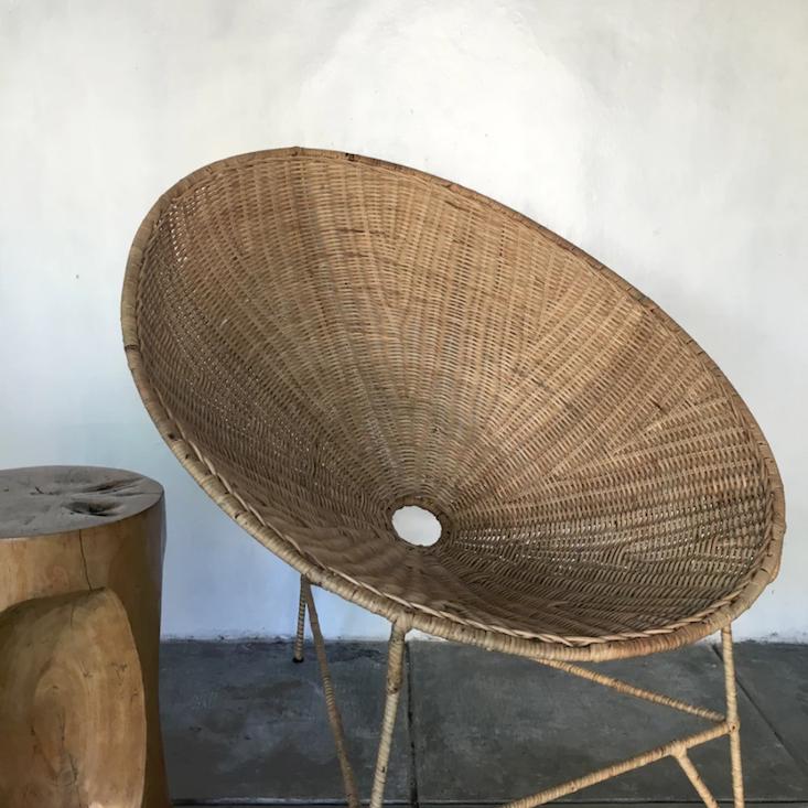 worn-store-cane-oval-relax-chair-gardenista