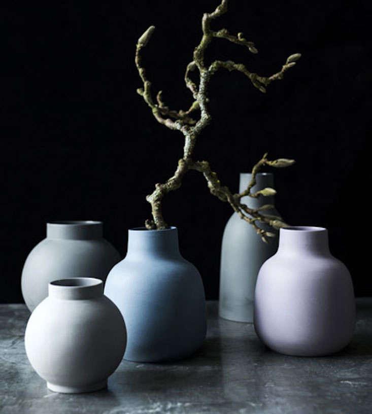 Lena Pedersen ceramics on Gardenista Current Obsessions