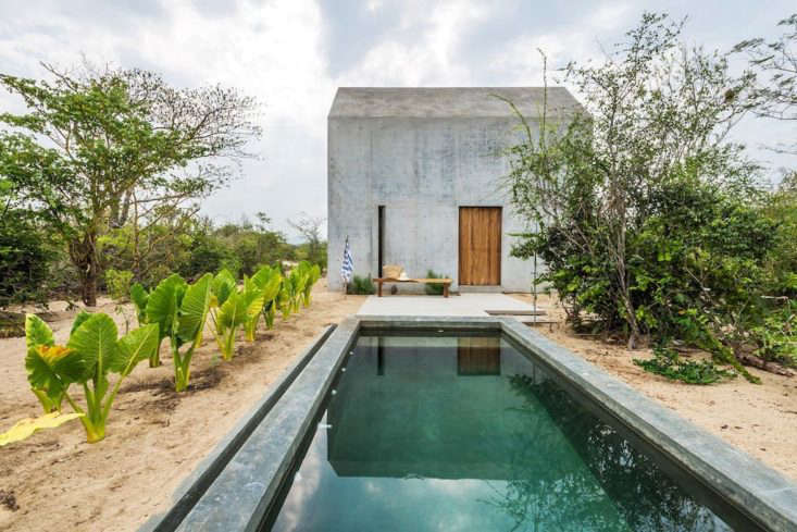 Located near Puerto Escondido, Oaxaca, the tiny house has one bedroom, one bath, and one bed: $66 a night.Photograph viaAirbnb. For more, see One Bedroom, Desert View: A Tiny Casita in Mexico, Swimming Pool Included.