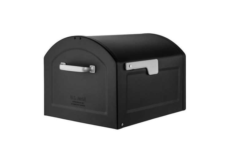black-parcel-mailbox-home-depot