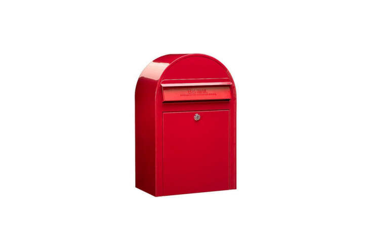 The Bobi Classic Mailbox in Red is available through Bobi.