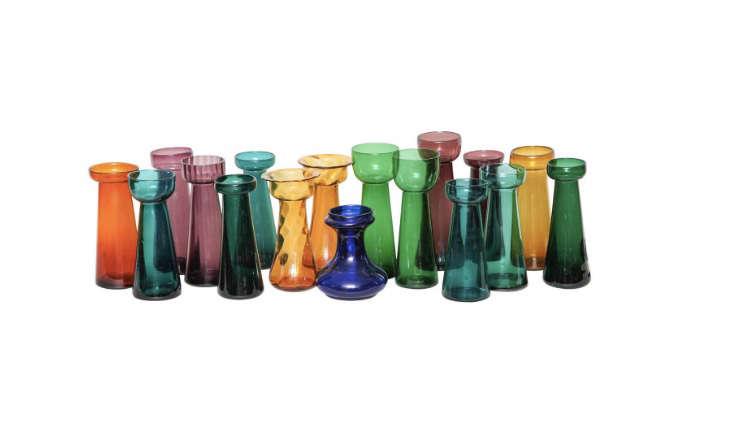 colored-vintage-glass-forcing-bulb-vases