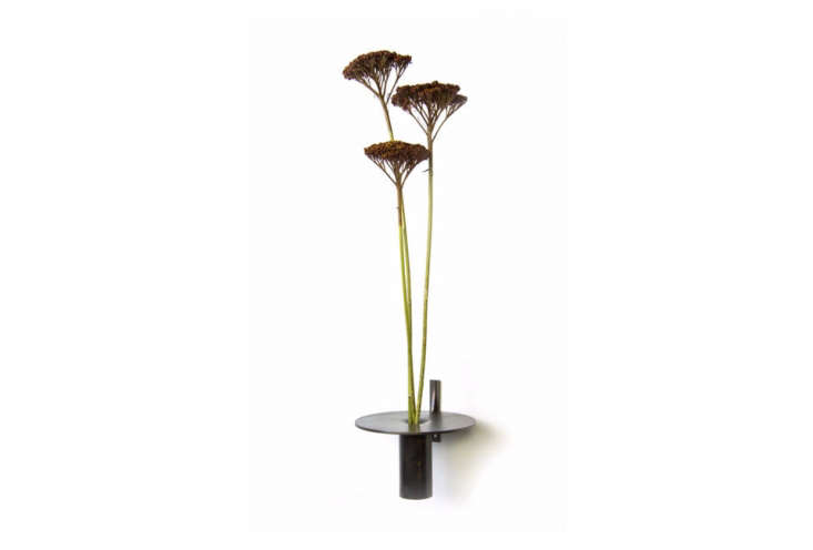 Margot is coveting minimalist brass Bud Vases by Christopher Gentner, a Chicago furniture designer with a background in jewelry design. The collectionis availabledirectly from Gentner Design and through Kaufmann Mercantile. Shown here: the Bud Wall Vase.