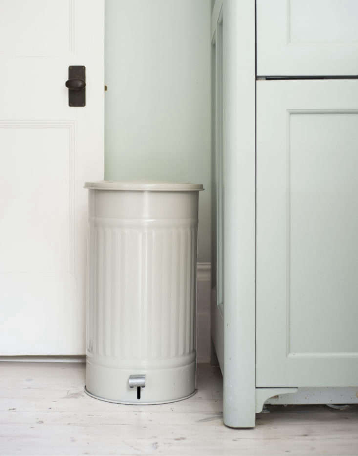 And to literally freshen up your kitchen, consider deodorizing your trash bin with an all-natural recipe from herbal apothecaryS/he Studio. Photograph by Matthew Williams for Remodelista, from Essential Oils DIY: Make a Simple Trashcan Deodorizer.