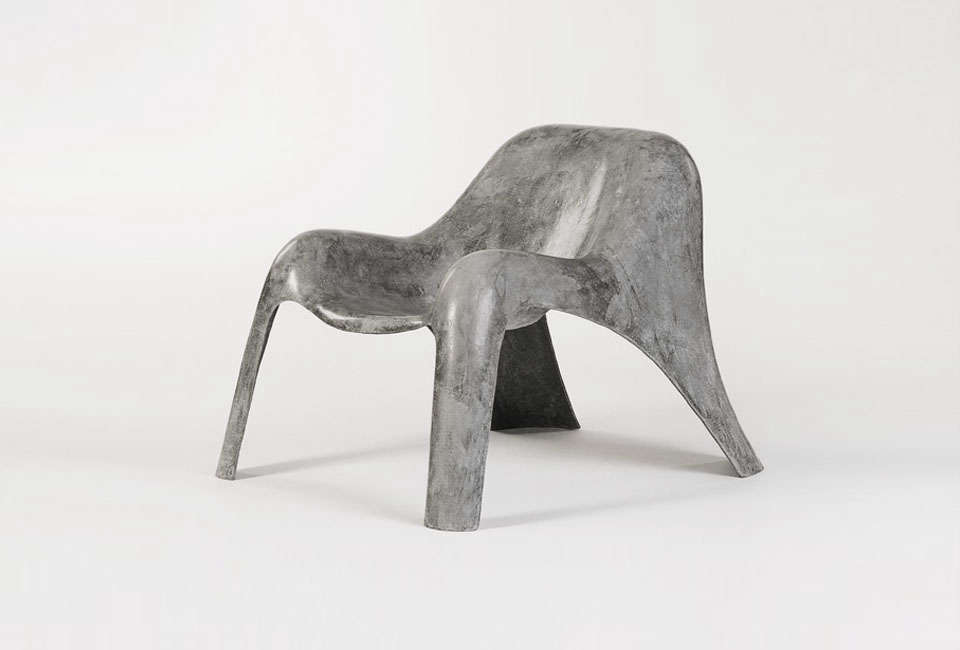 Paulsberg Clubsessel Spurt Chair in Concrete
