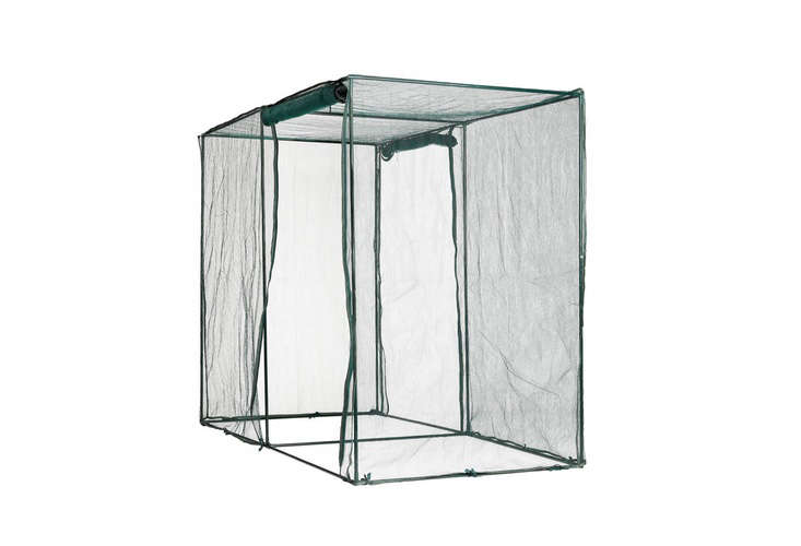 A small, portableCrop Cage has zippered doors; \$99.95 from Gardener&#8\2\17;s.
