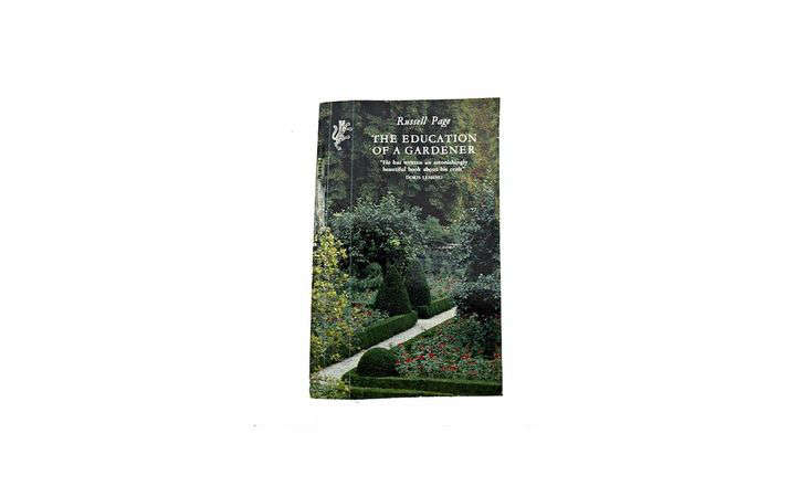 The Education Of A Gardener by Russell Page is $.83 for a paperback copy from Amazon.