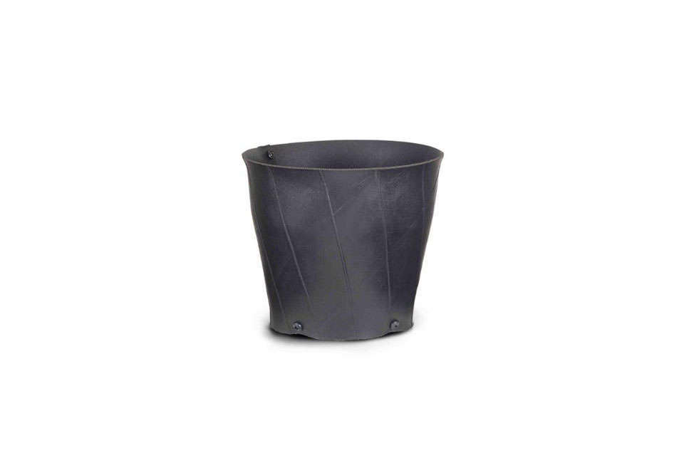 Venice Recycled Tire Tall Flower Pot