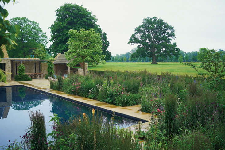 A pool in Oxfordshire. Photograph by Charlie Hopkinson.