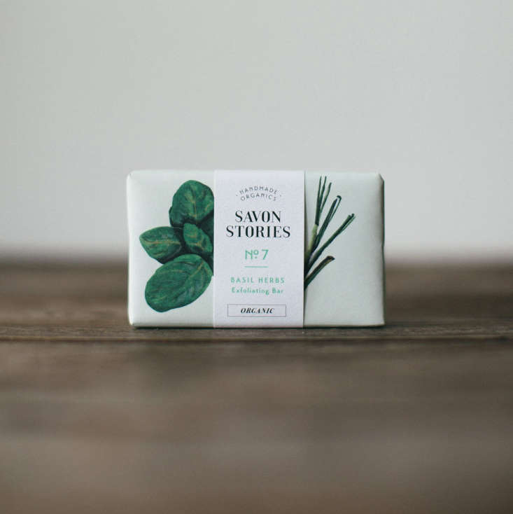 Handmade in England, a bar ofBasil Herbs Organic Soap has a soothing hint of lemongrass as well; £8 from The Future Kept.