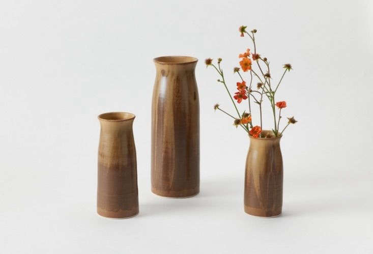 Admiring Christiane Perrochon&#8\2\17;s newRaw Umber Bottle Vase, now available at March.