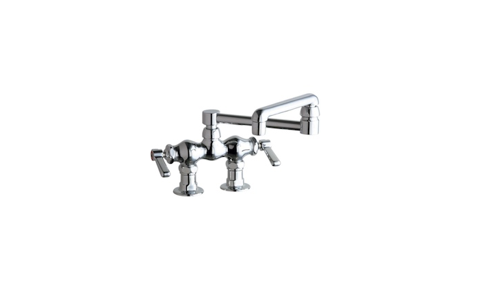 For a deck-mounted faucet, we&#8