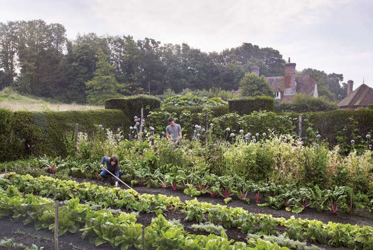 The kitchen garden at Great Dixter, in East Sussex.
