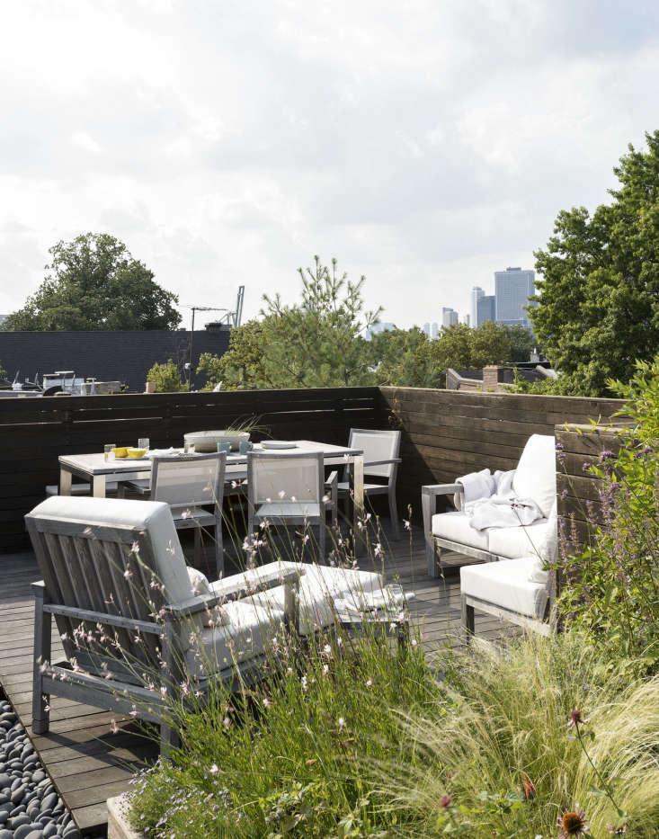 Julile Farris roof garden Brooklyn by Matthew Williams