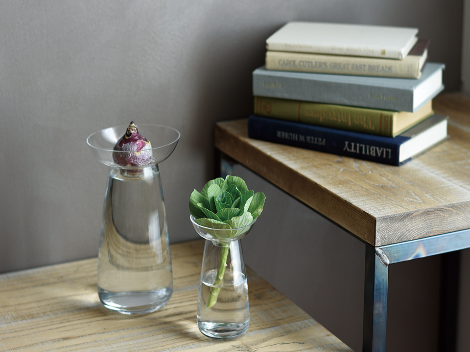 The Aqua Culture Vase is available on the Kinto website from $.80 to $, depending on size.