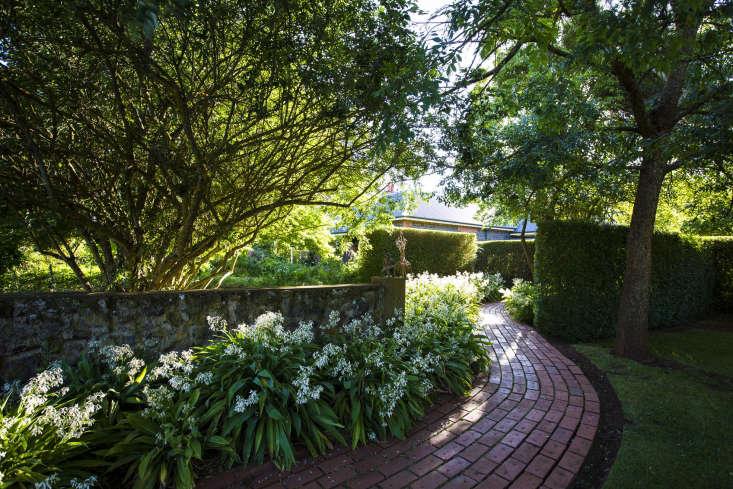 A Shady path at Lambley Nursery, Victoria, Australia.