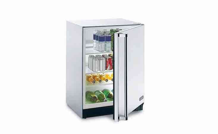 From Lynx Grills, anOutdoor Refrigerator has four adjustable tempered glass shelves; \$\2,499 at Woodland Direct.