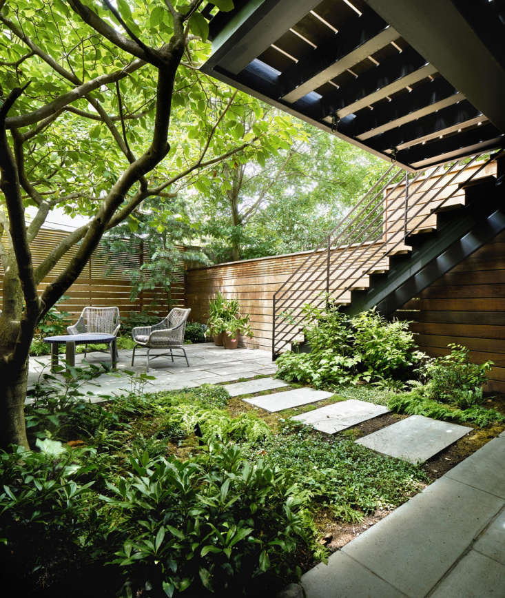 Photograph by Dan Wonderly, courtesy of Kim Hoyt Architects. For more of this garden, see Landscape Architect Visit: A Leafy Garden in Park Slope in Brooklyn.